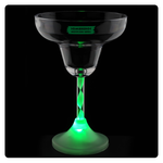 Margarita Glass with Light Up Spiral Stem - 8 oz.