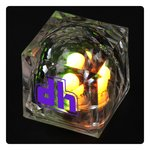 Crystal Light Up Ice Cube - Multicolor