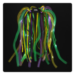 LED Noodle Headband - Mardi Gras