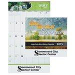 Big Block Scenic Calendar - Spiral