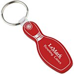 Bowling Pin Soft Key Tag - Translucent