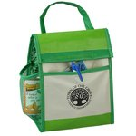 Recycled Impulse Lunch Cooler - Green - Closeout