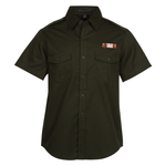 Two-Pocket Stain Resistant SS Shirt - Men's