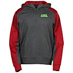 Colorblock Performance Heather Fleece 1/4 Zip Hoodie