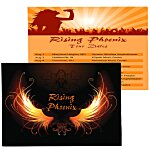 Double Sided Business Card Magnet - Rectangle - 5-3/4