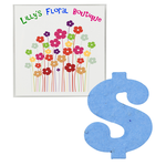 Plant-A-Shape Flower Seed Value Packet - Dollar Sign