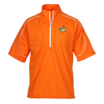 PUMA Golf Short Sleeve Knit Wind Jacket - Men's