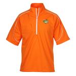PUMA Golf Short Sleeve Knit Wind Jacket - Men's
