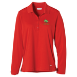 Brecon Long Sleeve Moisture Wicking Polo - Ladies' - 24 hr
