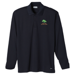 Brecon Long Sleeve Moisture Wicking Polo - Men's - 24 hr