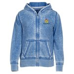 Ridgemont Burnout Full Zip Hoodie - Men's
