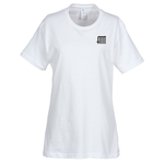 Essential Ring Spun Cotton T-Shirt - Ladies' - White