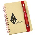 Bright Line Recycled Notebook w/Pen - Closeout