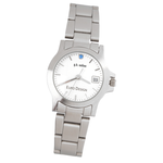 Hamburg Brushed Steel Watch - Ladies'