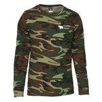 Code V Camouflage LS T-Shirt - Men's