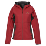 Ferno Color Block Soft Shell Hooded Jacket - Ladies' - 24 hr