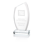 Radiant Starfire Glass Award - 8