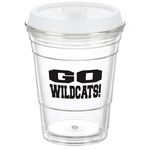 Game Day Cup w/Lid - Translucent - 16 oz.