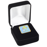 Square Lapel Pin w/Gift Box