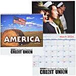 American Visions Calendar - Spiral - 24 hr