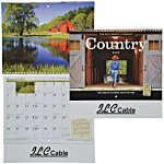 The Old Farmer's Almanac Calendar - Country - Spiral - 24 hr