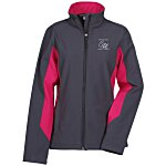 Ace Colorblock Soft Shell Jacket - Ladies'