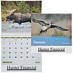Wildlife Portraits Calendar - Spiral - 24 hr