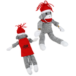 Flying Shrieking Sock Monkey