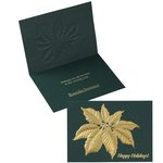 Poinsettia Leaf Greeting Card