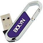 Carabiner USB Drive - 2GB