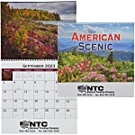 American Scenic Appointment Calendar - Spiral - 24 hr