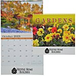 Beautiful Gardens Calendar - Spiral - 24 hr