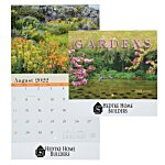 Beautiful Gardens Calendar - Stapled - 24 hr