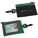 Zip Pouch ID Holder - Colors - 24 hr