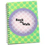 3D Spiral Notebook - Circle - Closeout