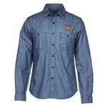Patch Pocket Denim Shirt - Men's