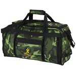 Navigator Weekender Duffel - Camo - Embroidered