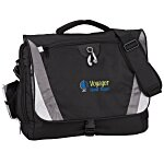 Slope Laptop Messenger Bag - Embroidered