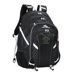 High Sierra Zoe Laptop Backpack w/Travel Bag - Emb