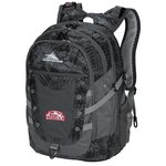 High Sierra Tactic Laptop Backpack - Embroidered