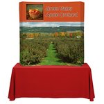 Backlit HopUp Curved Tabletop Display - 5'- RG