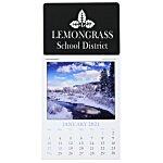 Scenic Stick Up Calendar - Rectangle