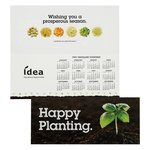 Greet n Keep Calendar Card - Happy Planting