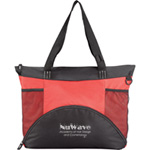 Hemisphere Meeting Tote- Red