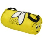 Paws and Claws Barrel Duffel Bag - Bee