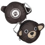 Paws and Claws Zippered Pouch - Bear