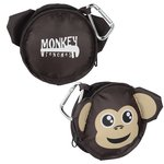 Paws and Claws Zippered Pouch - Monkey