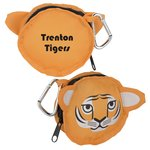 Paws and Claws Zippered Pouch - Tiger
