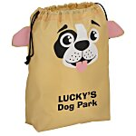 Paws and Claws Drawstring Gift Bag - Puppy