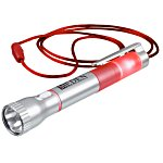 Flashlight with Pen and Lanyard - 24 hr